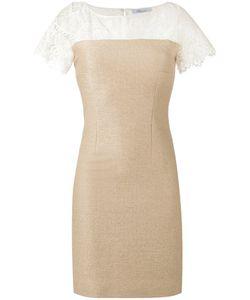 Blumarine | Lace-Panelled Dress 42