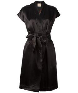 Laneus | V-Neck Wrap Dress Size 42