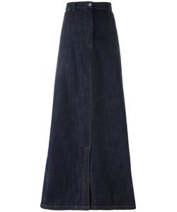 Dries Van Noten | Long Denim Skirt Size