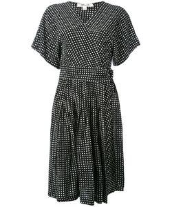 Diane von Furstenberg | Dotted Wrap Dress