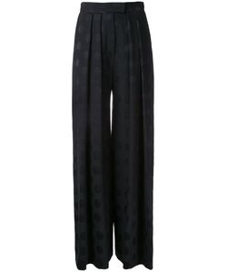 Martin Grant | Dotted Pattern Palazzo Pants Cupro/Viscose/Virgin