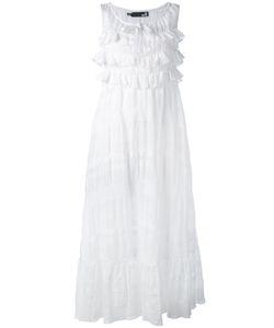 Love Moschino | Ruffled Midi Dress
