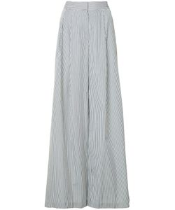 Adam Lippes   Pleated Sides Palazzo Trousers Women
