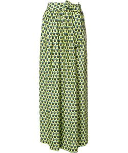 Tome | Geometric Print Karate Trousers Medium Polyester/Viscose