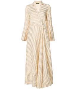 Hellessy | Flared Stripe Wrap Dress