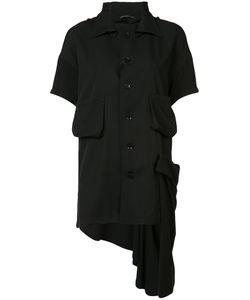 Yohji Yamamoto   Frill Knitted Top