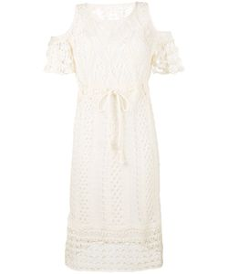 See by Chloé | Crocheted Cold Shoulder Dress