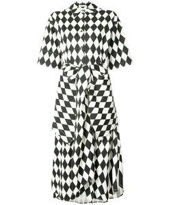Tome | Harlequin Print Shirt Dress
