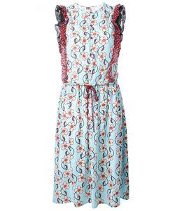 I'M Isola Marras | Print Drawstring Dress 44