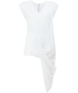 Ilaria Nistri | Draped Hem Top Size Small