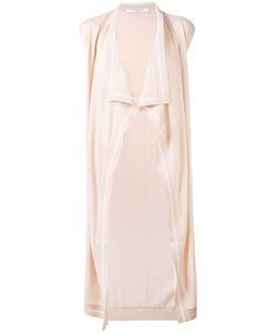 Givenchy | Draped Knitted Waistcoat Women L