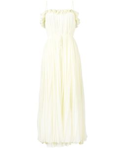 Adam Lippes | Sleeveless Pleated Gown Size 4