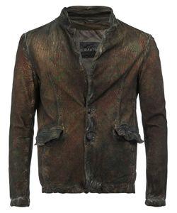 Giorgio Brato | Open Collar Button-Up Jacket Size 50