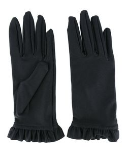 Balenciaga | Frill-Hem Gloves Size Small