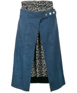 Creatures Of The Wind | Denim And Print Skirt