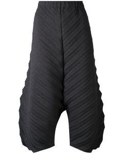 Issey Miyake Cauliflower | Textured Cropped Trousers