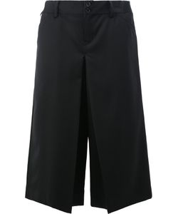 Ganryu Comme Des Garcons | Slit Detail Cropped Trousers