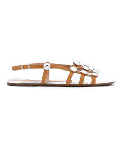 L'Autre Chose | Round Studded Sandals Size 40