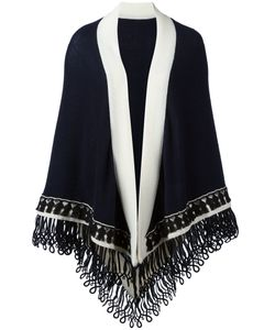 Antonia Zander | Colour Block Large Scarf Cashmere/Cotton/Polypropylene