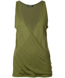 Balmain | Wrap Front Vest Top