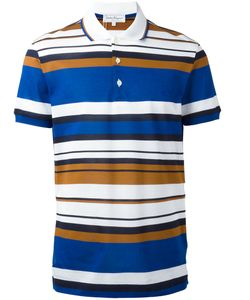 Salvatore Ferragamo | Striped Polo Shirt Size Xl