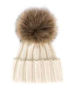 Inverni | Racoon Fur Bobble Hat
