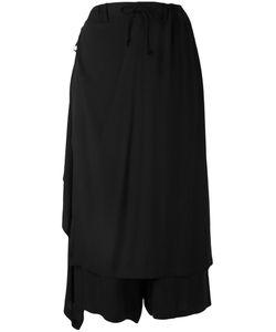 Yohji Yamamoto   Apron Cropped Trousers