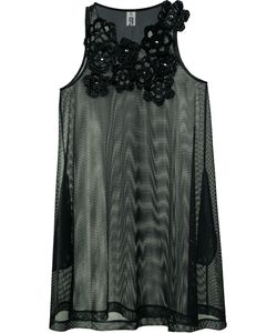 Comme Des Garçons Noir Kei Ninomiya | Embellished Sheer Top