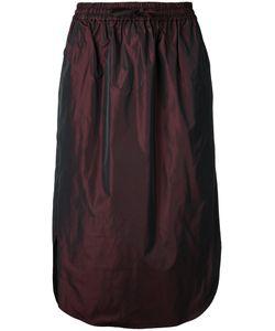 08Sircus | Drawstring Midi Skirt
