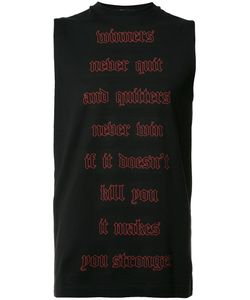 Dsquared2 | Inspirational Quote Tank Large Cotton