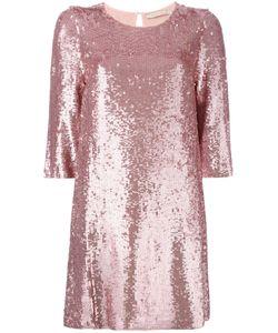 Amen | Sequins Embellished Shift Dress Size 42