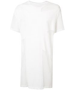 Julius | Sheer Panel T-Shirt 3 Cotton
