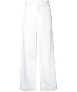 Bassike | Denim Wide Leg Trousers