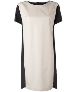 Barba | Contrast Panel T-Shirt Dress Size 48