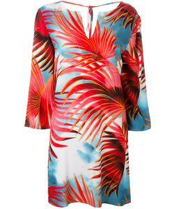 Just Cavalli | Palm Print Dress Size 40