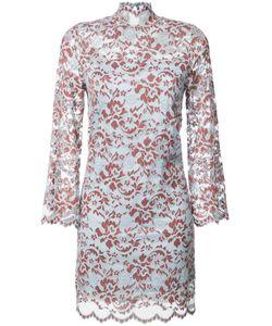 Ganni   Sheer Pattern Dress