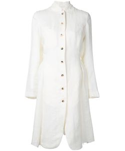 Aleksandr Manamïs | Contrast Button Dress Coat