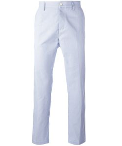 Mp Massimo Piombo | Striped Slim Fit Chinos Size 50
