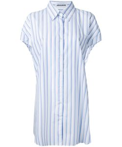 Mikio Sakabe   Elongated Stripe Shirt