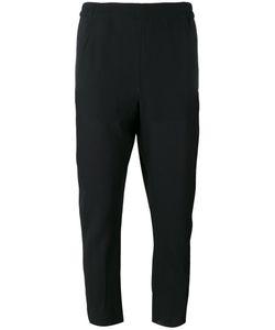 Ann Demeulemeester | Raw Hem Cropped Trousers Cotton/Rayon/Virgin