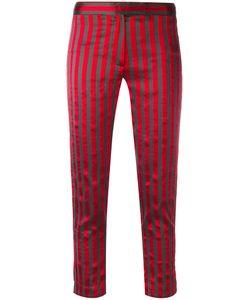 Ann Demeulemeester | Cropped Stripe Trousers Women