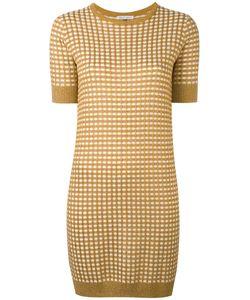 Bella Freud | Sparkle Gingham Knit Dress Rayon/Wool/