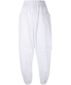 Chalayan | Striped Balloon Trousers Size 40