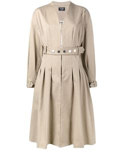 Creatures Of The Wind | Collarless Belted Coat Size 4