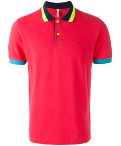 Sun 68 | Contrast Polo Shirt Size Large