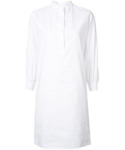 Atlantique Ascoli | Mandarin Neck Shirt Dress