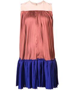 Roksanda | Blockcolour Pleated Dress 6
