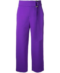 Le Ciel Bleu | Relaxed Belted Trousers