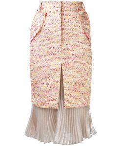 Daizy Shely   Chanel Organza Skirt