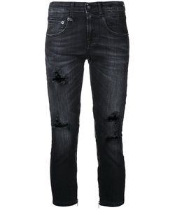 R13 | Cropped Distressed Jeans Size 25